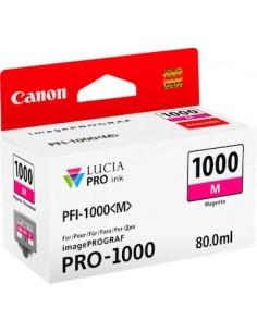 Tinta Canon PFI-1000M Magenta 80 ml.