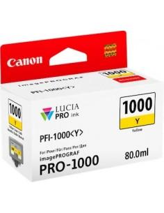 Tinta Canon PFI-1000Y Amarillo 80 ml.