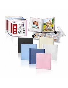 PHOTO BOOK COVER MITSUBISHI 15X15 CALANDRE (CREMA)