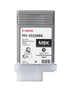 Tinta Canon PFI-102MBK Negro Mate - 130 ml.