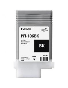 Tinta Canon PFI-106BK Negro Foto 130 ml.