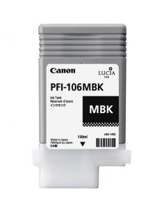 Tinta Canon PFI-106MBK Negro mate 130 ml.