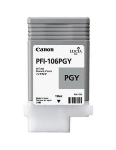 Tinta Canon PFI-106PGY Gris claro 130 ml.