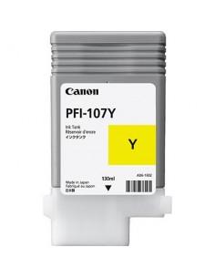 Tinta Canon PFI-107Y Amarillo - 130 ml.