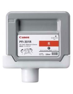 Tinta Canon PFI-301R Rojo 330 ml.