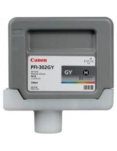 Tinta Canon PFI-302GY Gris 330 ml.