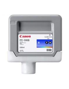 Tinta Canon PFI-306B Azul 330 ml.