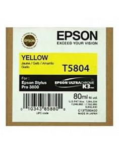 Tinta Epson T580400 Amarillo - 80 ml.