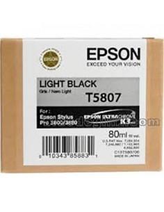 Tinta Epson T580700 Gris - 80 ml.