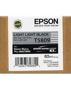 Tinta Epson T580900 Gris claro - 80 ml.