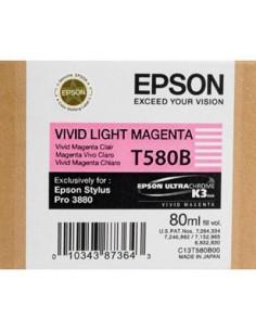 Tinta Epson T580B00 Magenta claro Vivo - 80 ml.