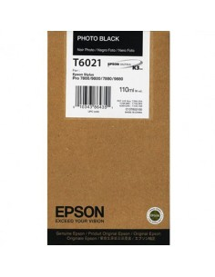 Tinta Epson T602100 Negro foto 110 ml.