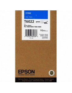 Tinta Epson T602200 Cían 110 ml.