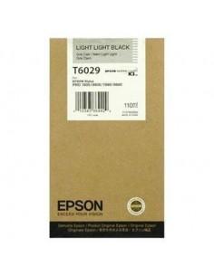 Tinta Epson T602900 Gris claro 110 ml.