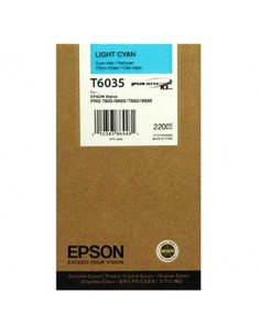 Tinta Epson T603500 Cían claro 220 ml.