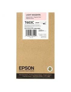 Tinta Epson T603C00 Magenta claro 220 ml.