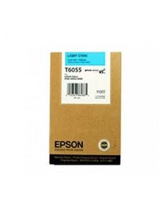 Tinta Epson T605500 Cían claro 110 ml.