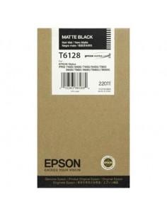 Tinta Epson T612800 Negro Mate 220 ml.