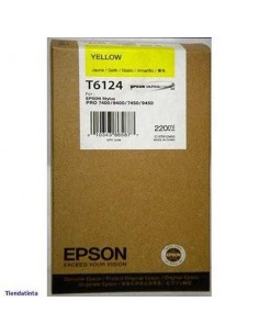 Tinta Epson T613400 Amarillo 110 ml.