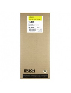 Tinta Epson T6424 Amarillo 150 ml.