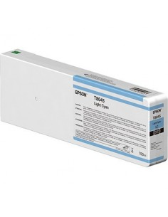 Tinta Epson T804500 Cían Claro 700 ml.