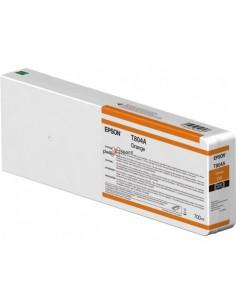 Tinta Epson T804A00 Naranja 700 ml.