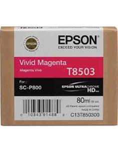 Tinta Epson T8503 Magenta - 80 ml.