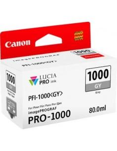 Tinta Canon PFI-1000GY Gris 80 ml.