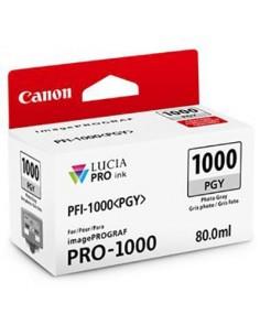 Tinta Canon PFI-1000PGY Gris claro 80 ml.
