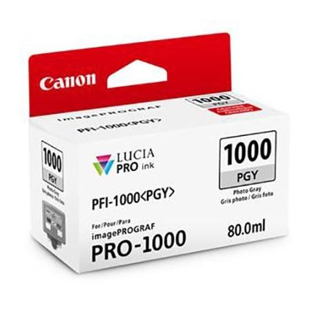 Tinta Canon PFI-1000PGY Gris claro 80...