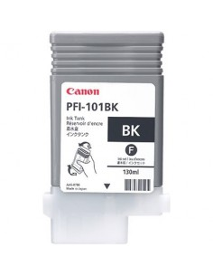 Tinta Canon PFI-101BK Negro Foto 130 ml.