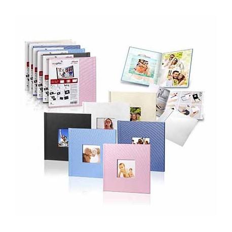 PHOTO BOOK COVER MITSUBISHI 20X20 QUARTZ (NEGRO) CON VENTANA