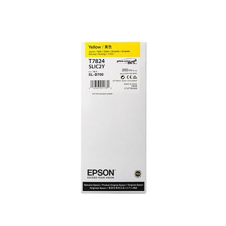 TINTA AMARILLO EPSON (D700) 200 ML