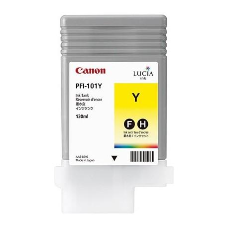 Tinta Canon PFI-101Y Amarillo 130 ml.