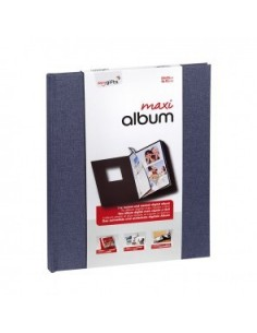 EALBUM8X10-MAXI - ALBUM 20X25 SURTIDO COLORES, JEANS-PURPLE-BLACK(12Uds)