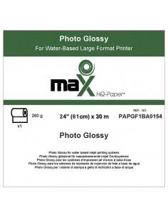 "PHOTO GLOSSY 260 GR. 61CM (24"") X 30M"