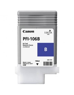 Tinta Canon PFI-106B Azúl 130 ml.