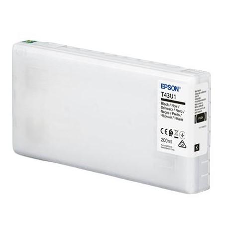 TINTA NEGRO EPSON (D800) 200ML T43U1