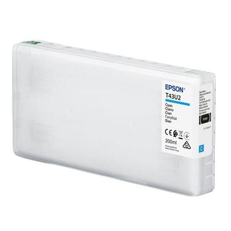 TINTA CIAN EPSON (D800) 200ML T43U2