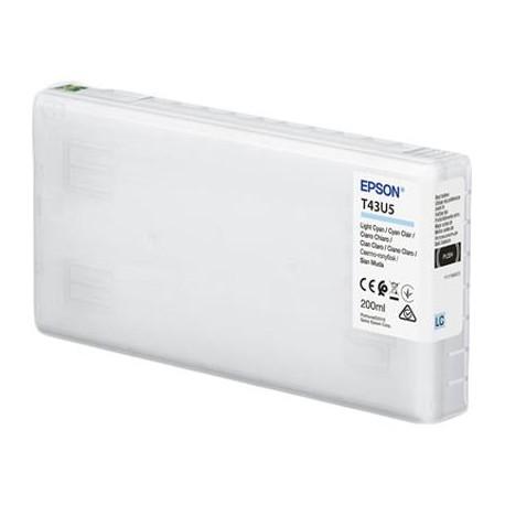 TINTA CIAN CLARO EPSON (D800) 200ML T43U5