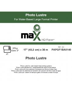 "PHOTO LUSTER 275 GR. 43,20CM (17"") X 30M"
