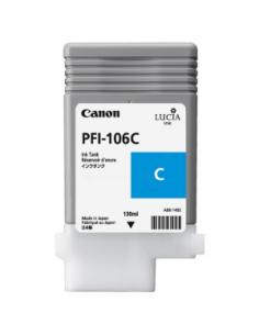 Tinta Canon PFI-106C Cían 130 ml.