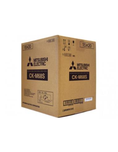 Ribbon y papel CK-M68S (CP-M1E)