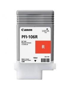 Tinta Canon PFI-106R Rojo 130 ml.
