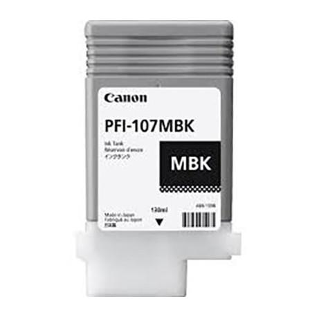 Tinta Canon PFI-107MBK Negro Mate - 130 ml.