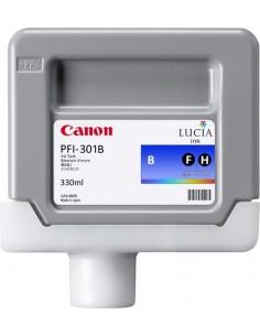 Tinta Canon PFI-301B Azul 330 ml.