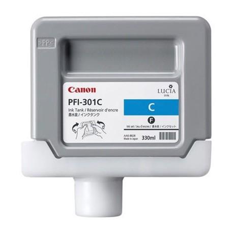 Tinta Canon PFI-301C Cían 330 ml.