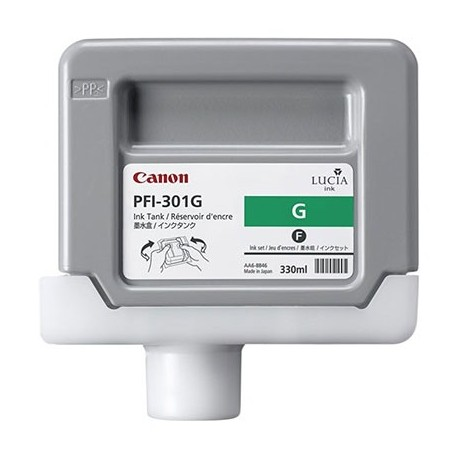 Tinta Canon PFI-301G Verde 330 ml.