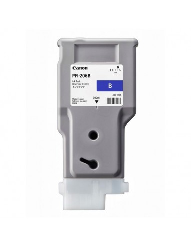 TINTA CANON PFI-206B AZUL 300 ml