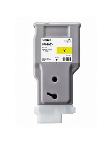 TINTA CANON PFI-206Y AMARILLO 300 ml